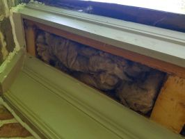 Honey Bee Proofing Eaves Insulation